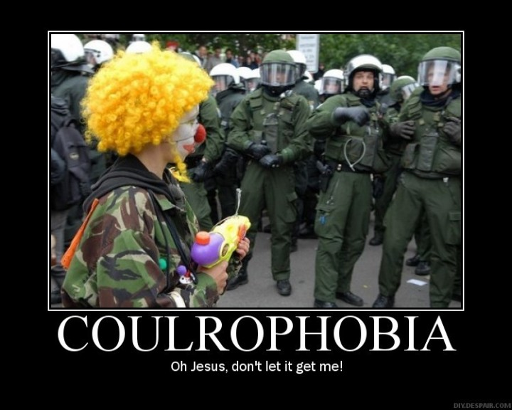 Coulrophobia - Oh Jesus don't let it get me