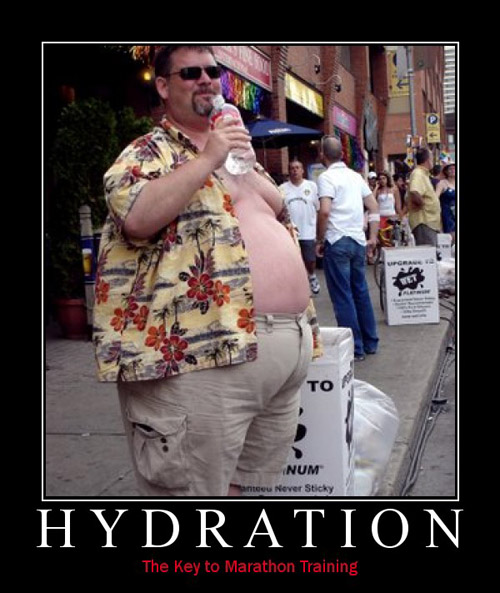 Hydration - The key to marathon training
