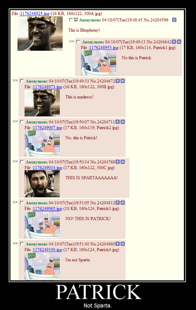 Blasphemy | 4chan Lover - Meme and Motivational Haven